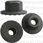 M6-1.0 Free Spinning Washer Nut 19mm Od