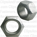 "3/8""-24 SAE Prevailing Torq Lock Nut Grade 8"