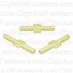 Nylon Straight Connector 1/8 X 1/8