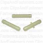 Nylon Straight Connector 1/4 X 1/4