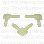 Nylon Elbow Connector 3/16 X 3/16