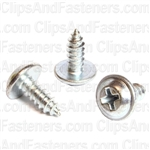 Phillips Flat Top Washer Head Tap Screw #10 X 1/2