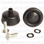 Window Crank Handle Knob W/Stud (Black)