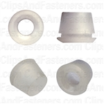 Moulding Insert White Nylon