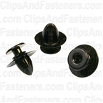 Volvo Moulding Retainer Black Nylon