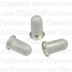 Tubular Nut (Nylon) For 3mm Stud