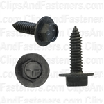 Mirror Mounting Screw Phos W/Nylon Wash