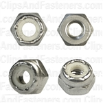 10-32 Nylon Insert Lock Nut 18-8 Stainless Steel