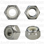 5/16-18 Nylon Insert Lock Nut 18-8 Stainless Steel