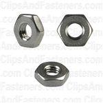 10-32 Hex Machine Screw Nuts 18-8 Stainless