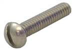 6-32 X 1/4 Sltd Rd.Hd.Mach Screw 18-8