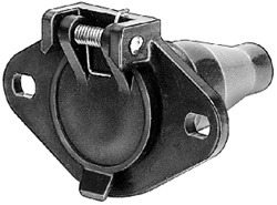 Heavy Duty 6-Way Trailer Socket