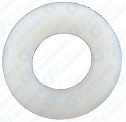 "5/16"" Nylon Flat Washer .390"" I.D. .062"" Thick"