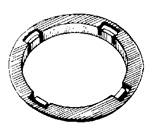 Nissan Interior Trim Ring 46mm O.D. 36mm I.D.