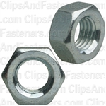 7mm-1.0 Din 934 Hex Nut - Zinc