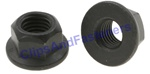 Hex Flange Locknut M12-1.75 25mm Flange