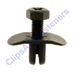 Push-Type Retainer 5mm X 14mm Screw