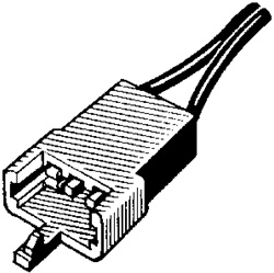 GM Speaker Connector Pigtail