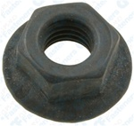 M8-1.25 Metric Spin Lock Nuts With Serrations 19mm Flange