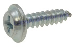 #8 X 5/8 Phillips Flat Top Washer Head Screws Zinc