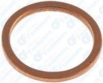 16mm Copper Washer16.2mm I.D. 19.8mm O.D.