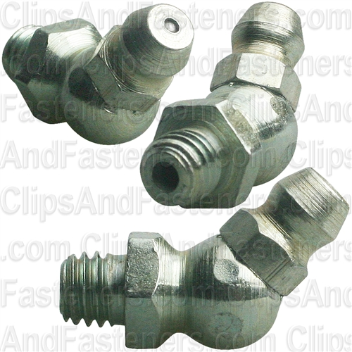 Grease Fitting M6-1.0 45 Degree