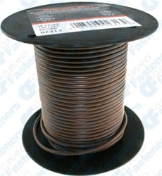 18 Gauge Brown 100 Ft Pvc Primary Wire