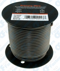 14 Gauge Brown 100 Ft Pvc Primary Wire