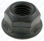 Hex Flange Locknut M8-1.25 17mm Flange