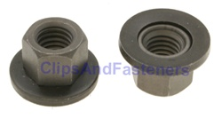 M10-1.5 Free Spinning Washer Nut24mm Od