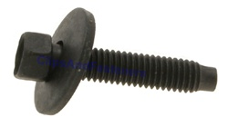 M6-1.0 X 27mm Hex Head Sems Bolts With Dog Point