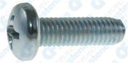 M6-1.0 X 25mm Phillips Pan Head Metric Machine Screws