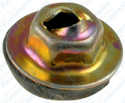 Thread Cutting Nut W/Sealer For 3mm Stud