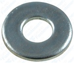 "5/32"" SAE Flat Washer Zinc Finish 7/16"" O.D."