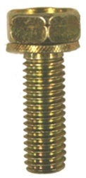 M8-1.25 X 40mm Hex Head Sems Split Wave Washer Body Bolts