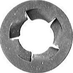 "9/64"" (#6) Pushnut Bolt Retainer 11/32"" O.D. Zinc"
