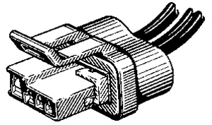 GM 3-Wire Alternator Connector Pigtail