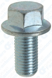 Jis Hex Flange Bolt M10-1.25 X 20mm Zinc