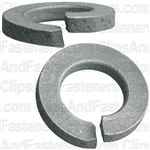 8mm DIN 127 Metric Lock Washers - Zinc