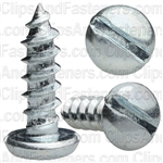 "#10 X 5/8"" Zinc Slotted Pan Head Tapping Screws"