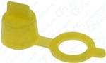Grease Fitting Cap Yellow Polyethylene