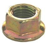 Hex Flange Nut M10-1.25 Thread 19mm Flange O.D.