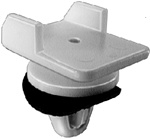Mitsubishi Trunk Air Dam Side Moulding Clip