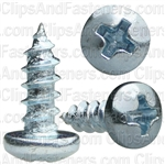 Phillips Pan Head Tap Screw 6 X 3/8 Zinc Ab
