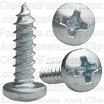 Phillips Pan Head Tap Screw #6 X 1/2 Zinc