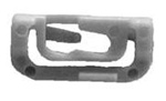 Mitsubishi Windshield Moulding Clip