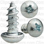 Phillips Round Head Tap Screw 10 X 1/2 Zinc
