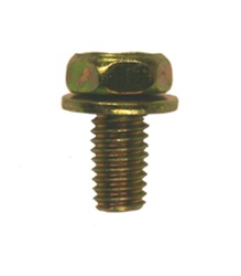 Hex Head Sems Body Bolt M6-1.0 X 12mm