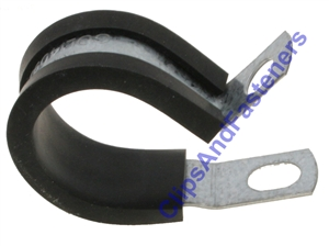 "7/8"" Steel Tubing Clamps With Neoprene Jacket"