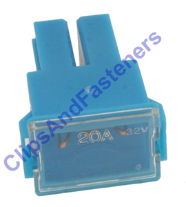 Auto Link Fuse 20 Amp Female Blue